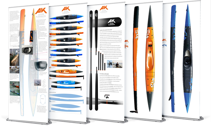 Banners for Axis Kayaks
