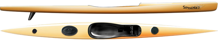 Spindrift 2 – surfski in wood