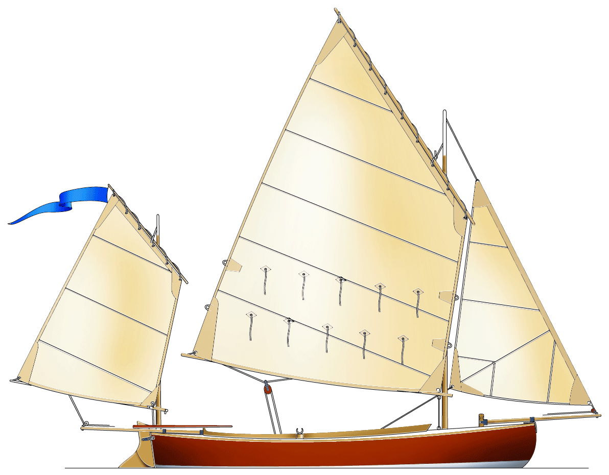 Canoe Yawl 400 | Björn Thomasson Design