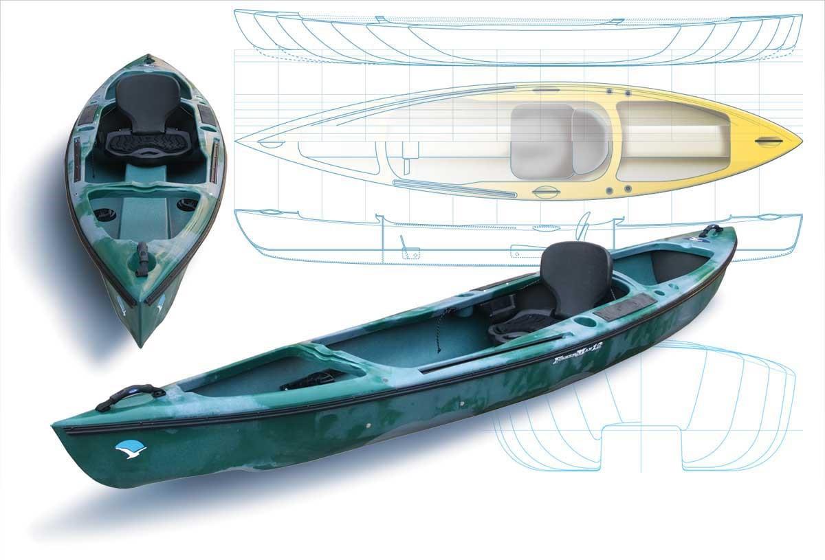 каяк морской для рыбалки