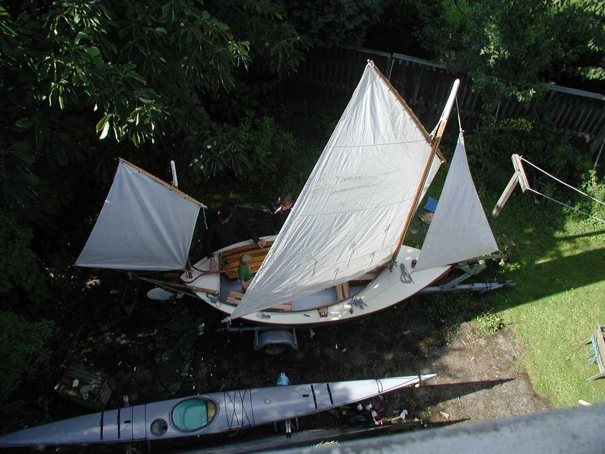 Canoe Yawl 400 Bj 246 Rn Thomasson Design