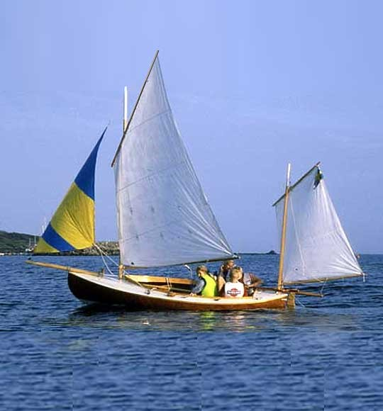 Canoe Yawl 400 Bj 246 Rn Thomasson Design