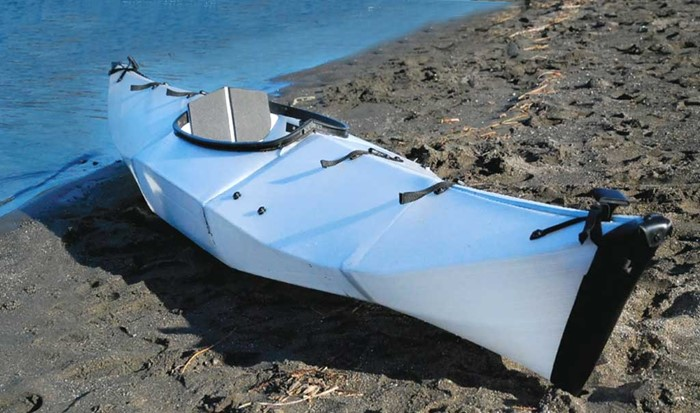 ORU - the origami kayak project