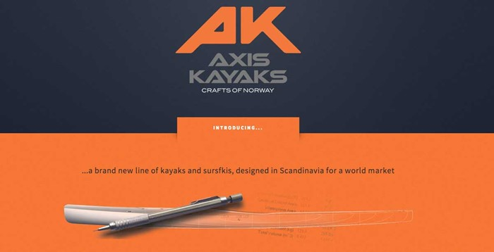 Axis Kayaks – a new site